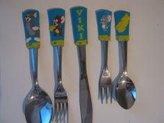 felnőtt méretű evőeszköz készlet - Tom   Jerry, Konyhafelszerelés, Meska