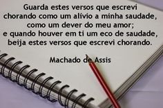 Poemas e Versos : Machado de Assis - Poesia  Visual - Guarda  estes ...