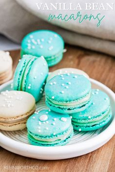 Best Easy Dessert Recipes, Easy Easter Recipes, Sweet Recipes, Delicious Desserts, Amazing Recipes, Macaron Cookies, Macaron Recipe, Macaroons, Kinds Of Cookies
