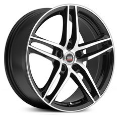 Spec-1 SP-25 wheels, gloss black machined rims.