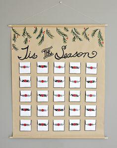 DIY Envelope Advent Calendar - Decor Fix