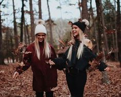 Ideas For Photography Poses Bestfriends Best Friends Shoot, Fall Friends, Cute Friends, Photos Bff, Best Friend Photos, Best Friend Goals, Fall Pictures, Fall Photos, Autumn Photography