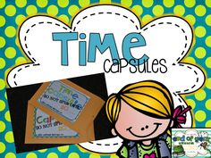 2nd Grade Shenanigans: Time Capsules included in the Ultimate End of the Year Writing Bundle.