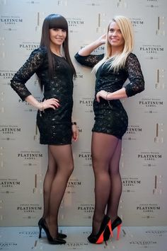 Jan and Barbie, two of the hostess team for the JW Platinum Label launch in Las Vegas.