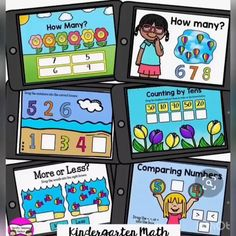 Educational Math Games, Kindergarten Math Activities, Math Resources, Classroom Resources, Cardinality Kindergarten, Computer Games For Kids, Math Poster, Math Graphic Organizers, Task Cards