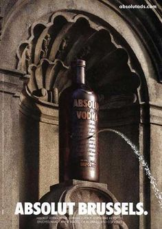 Advertising inspiration ABSOLUT : IS JUST BRILLIANT