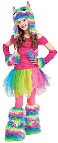 rockinu0027 rainbow girls monster costume small be sure to check out this awesome product
