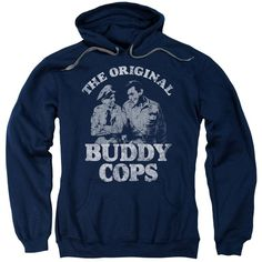 Andy Griffith - Buddy Cops Adult Pull-Over Hoodie