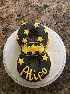 Bat Signal, Superhero Logos, Birthday Cake, Cakes, Desserts, Food, Tailgate Desserts, Birthday Cakes, Postres