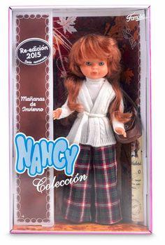 """La Muñeca Nancy: Nancy Coleccion """"Mañana de invierno"""", Reedición 2015"""