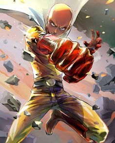 Get your favorite One Punch Man Saitama collectibles only here in RykaMall - your toy store. Other One Punch man characters are available here as well. Opm Manga, Manga Anime, Fanart Manga, Manga Art, Anime Guys, Anime Art, Saitama One Punch Man, One Punch Man Manga, One Punch Man Memes
