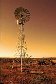 Australia is both a continent and a country. It is the largest country in the world. Country Farm, Country Life, Country Living, Old Windmills, Water Tower, Old Farm, Le Moulin, Old Buildings, Farm Life