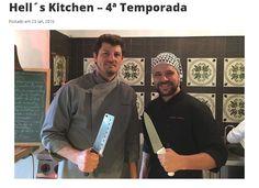 Stefano Hotel e Restaurante   Chef Franco Bruzzone   Site Jornal O Democrata   Hell´s Kitchen   Outubro de 2016.