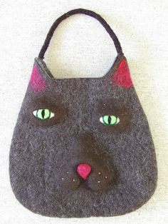 Felix felted bag by fibrespace