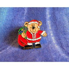 YDC138 ~ Father Christmas / Santa Bear Pin Badge ~ for Jack Russell Rescue UK Listing in the YDC (Your Donation Counts),Charity Auctions Category on eBid United Kingdom | 144383198