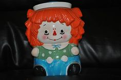 Vintage Raggedy Andy cookie jar