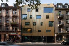 Wohn- und Geschäftshaus Baulücke Lange Rötterstrasse Mannheim von Motorlab