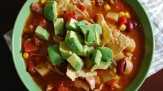 Bbq Chicken, Red Bean and Corn Country Chowder