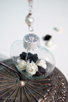 tuxedo  Valentine's Day Ornament  Black and White by ornamentgirl, $11.00