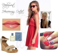 """Deployment Homecoming Outfit"" by kelley-mckenney-slaughter on Polyvore"