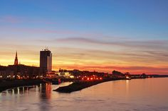 Croatia, Osijek, sunset