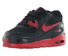 a072a174ffb24 408110-095 Kids Infant Air Max 90 Nike Black Gym Red