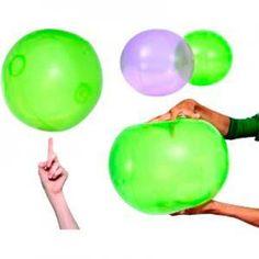 FingerLight 35cm, alternatief voor ballon. wanneer deze volledig opgeblazen zijn, ze zo reageren dat hun polyurethaan (PU) panelen eerst zullen rekken rond de oppervlakte waar ze op zitten (een vinger, een neus of de bovenkant van een hoofd) en dan springen ze eraf.