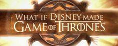 Et si Daenerys Targaryen de #GameofThrones était une princesse #Disney ? La réponse en chanson ! #GOT #Khaleesi