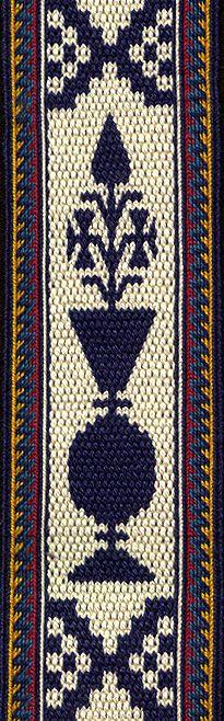 Tablet Weaving | Persian Motifs | Linda Hendrickson
