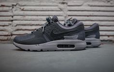 A Closer Look At The Nike Air Max Zero Cool Grey
