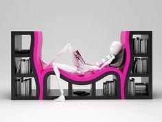 Konsept Kitaplık Tasarımı - Stanislav Katz