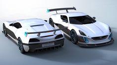 1,384bhp electric hypercar, the Rimac Concept S
