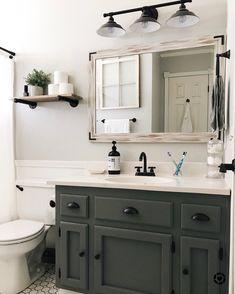Guest Bathroom Remodel, Guest Bathrooms, Upstairs Bathrooms, Bathroom Kids, Bathroom Renos, Dream Bathrooms, Downstairs Bathroom, Bathroom Interior, Decorating Small Bathrooms