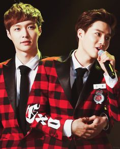 Suho and Lay
