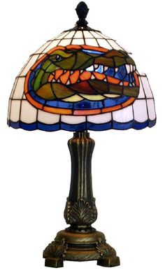 Florida Gator University of FL Accent Lamp I have this! My sweet hubby bought it for me! Uf Gator, Florida Gators Football, Girls Apartment, High School Cheerleading, Best Football Team, University Of Florida, My Living Room, Man Cave, Gator Party