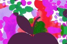 Bombotti, pattern / La vita e colore / design Sanna Pelliccioni Marimekko, Surface Design, Pattern Design, Stationery, Colourful Art, Greeting Cards, Gift Wrapping, Wallpaper, Illustration