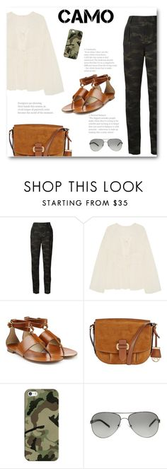 """""""Go Camo"""" by bliznec ❤ liked on Polyvore featuring BLK DNM, Chloé, Michael Kors, MICHAEL Michael Kors, Casetify, Tory Burch, polyvorecontest and camostyle"""