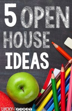 Open House is an awesome time to throw open our classroom doors and share our learning with parents, friends, and schoolmates! Check out these fun ideas to celebrate your students!    via @Molly - Lucky to Be in First
