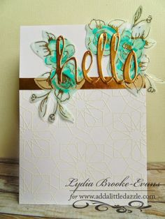 It's time for the Add a Little Dazzle and Altenew Blog Hop! We are so excited to be joining forces…