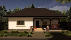 Model 70mp   Case de top Halle, Affordable House Plans, Design Case, Models, Traditional House, Home Projects, Places To Go, House Design, Interior Design