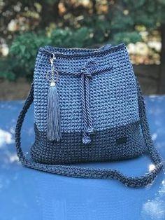 Μεγάλη άνετη τσάντα για κάθε μέρα την οποία θα λατρέψετε by Makia55