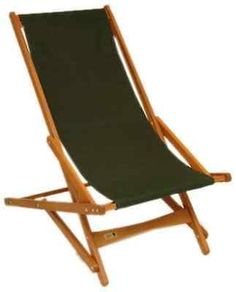 Pangean Glider Wooden chair by Byer of Maine