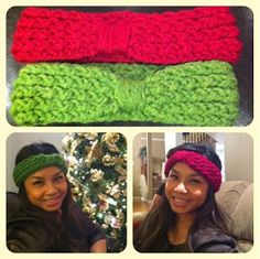 Loom knit headband. Great instructuons! Going to make one today!