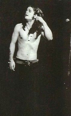 Ozzy in Montreal 1972