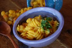 Extra Creamy Vegan Mac and Cheese - use grass fed butter or ghee instead of margarine. Delish and healthy.