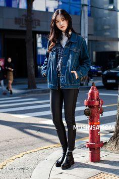 Korean Street Fashion | Official Korean Fashion                                                                                                                                                      More #KoreanFashion