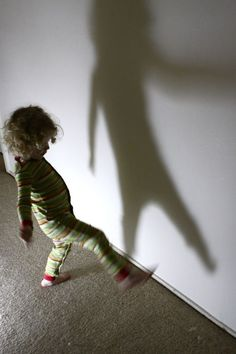 Try Shadow Dancing for a great way to entertain the kids!