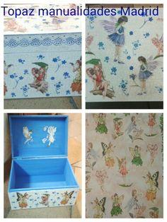 Caja de Hadas hecha en Topaz manualidades Madrid