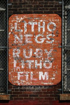Photo Process Screen Mfg. « Ghost Sign Project