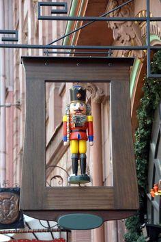 De bekende notenkraker, handwerk gemaakt in Duitsland